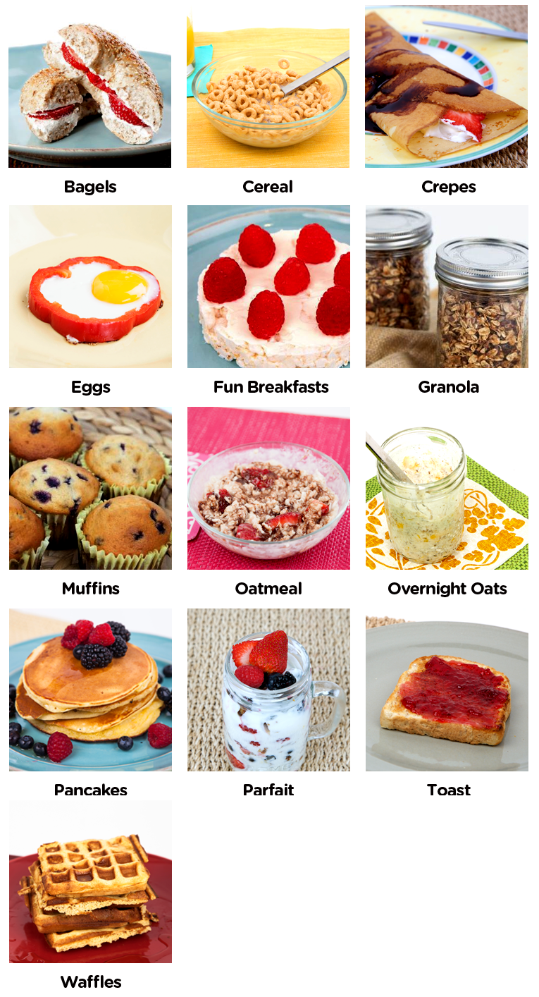 Visual Recipes Visual Step By Step Recipes Breakfast